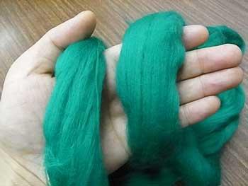 オリジナル羊毛フェルト みどり