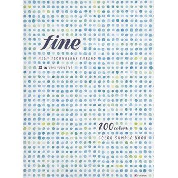 ファインミシン糸・ファイン手縫い糸 色・見本帳・カタログ