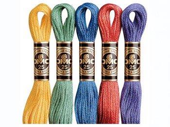 DMC刺繍糸 25番 色見本