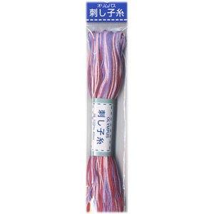 オリムパス 刺し子糸 ミックス col.73 20m