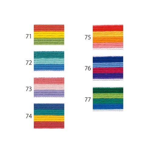 オリムパス 刺し子糸 ミックス col.73 20m 【参考画像2】
