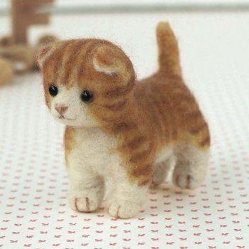 ハマナカ 羊毛フェルトキット 猫 マチカン H441-300