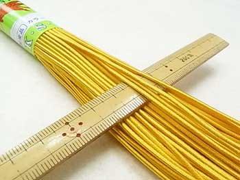 金天馬 天馬印 ハイカラー丸ゴム 黄色 直径約1.5mm 30m乱