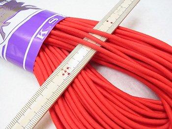 金天馬 ウーリーゴム 赤 M 直径約3mm 30m綛 KW11253
