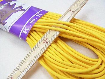 金天馬 ウーリーゴム 黄色 M 直径約3mm 30m綛 KW11255