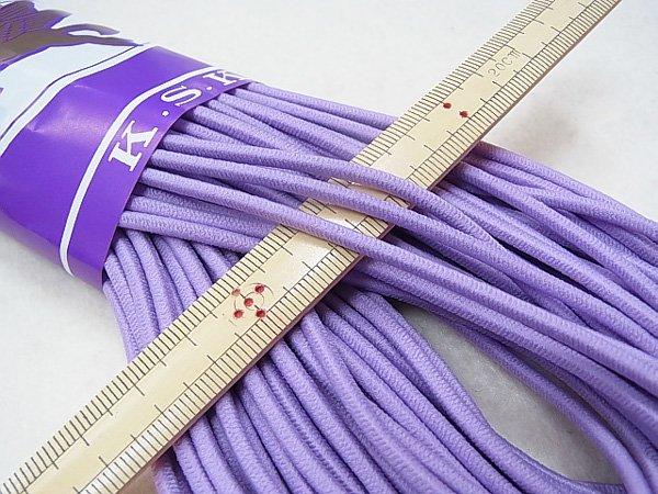 金天馬 ウーリーゴム 紫 M 直径約3mm 30m綛 KW10958 【参考画像1】