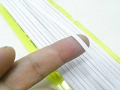 金天馬 ソフトテックスゴムテープ 白 4コール 【参考画像2】