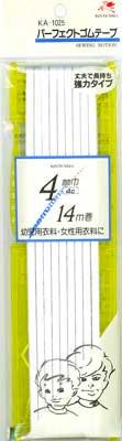 ■品切れ■ 金天馬 パーフェクトゴムテープ 白 4コール 【参考画像3】