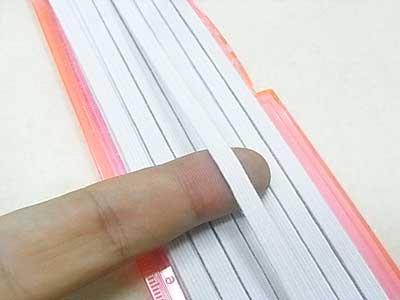 金天馬 パーフェクトゴムテープ 白 6コール 【参考画像1】