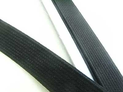 金天馬 オペロン織ゴム 黒 15mm巾x1m 【参考画像1】