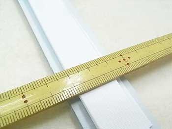 金天馬 オペロン織ゴム 白 20mm巾x1m巻