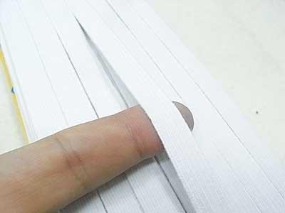 ダイヤモンド印 強力ゴム紐 白 12コール 30m 【参考画像1】