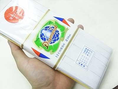 ダイヤモンド印 強力ゴム紐 白 12コール 30m 【参考画像2】
