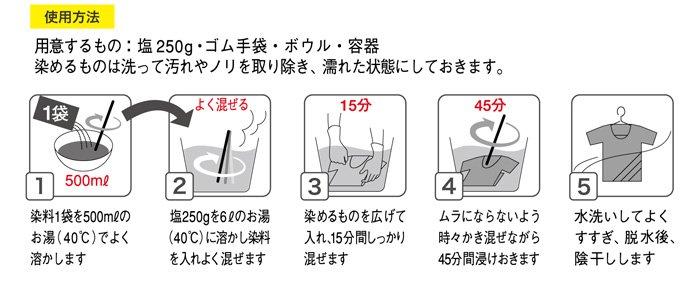 ダイロン プレミアムダイ ネイビーブルー 08 【参考画像5】