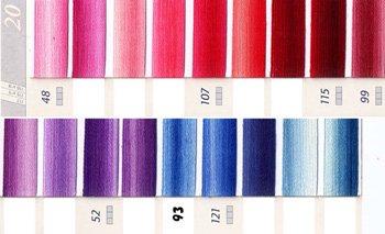 DMC刺繍糸 5番 ミックス系 1