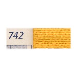 DMC 5番 刺繍糸 コットンパール 742