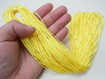 人五紐 黄色 太さ約1mm 約150m