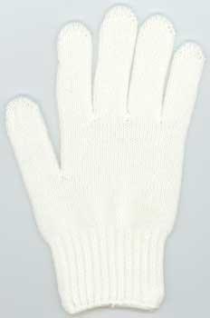 カラー手袋 白