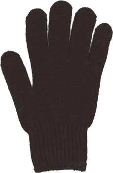 カラー手袋 黒