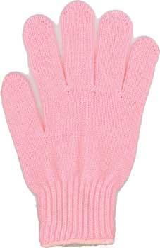 カラー手袋 薄ピンク