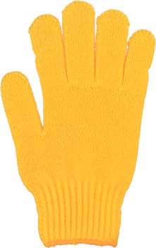 カラー手袋 山吹