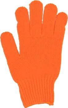カラー手袋 オレンジ