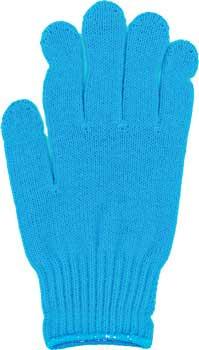 カラー手袋 ブルー