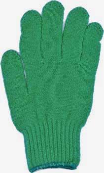 カラー手袋 緑
