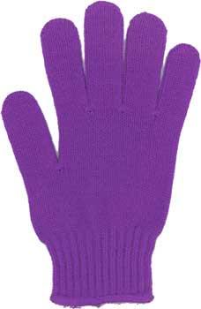 カラー手袋 紫