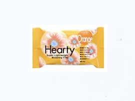 送料無料 ハーティカラー オレンジ 1箱(50gx70個)