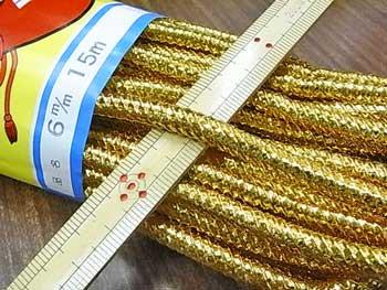 金打ちひも 極太 直径約6mmX約15m