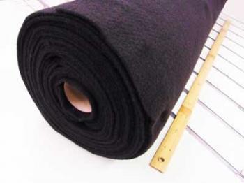 ドミット芯 黒 接着無 厚手タイプ 100cm幅