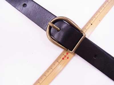ショルダー持ち手 本革 黒 #850 幅約2cm 長さ約105cm〜125cm 【参考画像2】