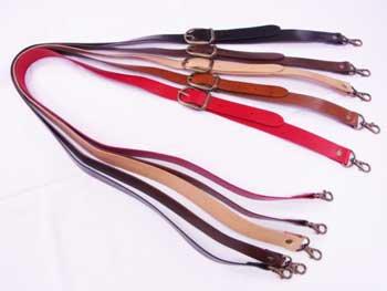 ショルダー持ち手 本革 幅約2.5cm 長さ約105cm〜125cm JTM-K504