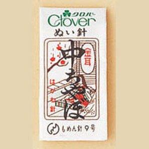 クロバー金耳針/木綿針 中ちゃぼ 12-205