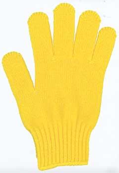 カラー手袋 黄色