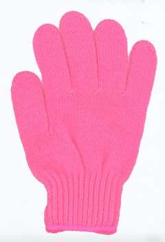 カラー手袋 ピンク