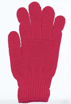 カラー手袋 ローズ