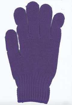 カラー手袋 パープル