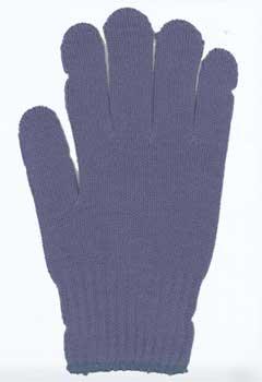カラー手袋 紺藍