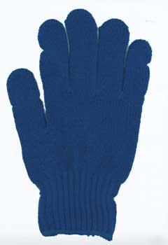 カラー手袋 紺色