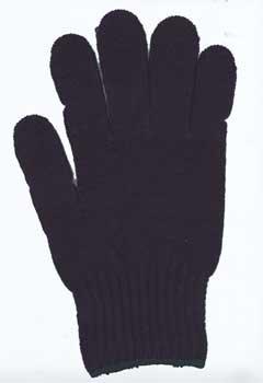 カラー手袋 濃紺