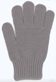 カラー手袋 グレー