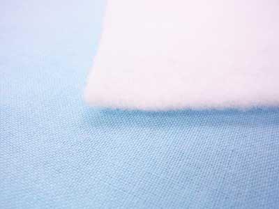 厚手のドミット芯 白 1反 100cm幅x10m巻 【参考画像2】