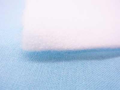 厚手の片面接着ドミット芯 白 1反 110cm幅x10m巻 【参考画像2】