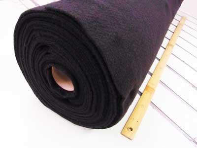 厚手のドミット芯 黒 1反 100cm幅x10m巻 【参考画像1】