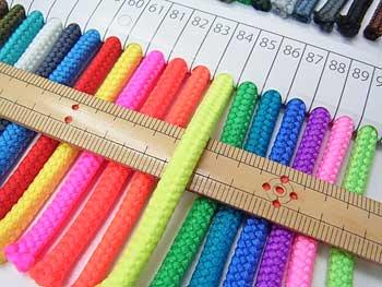 クララコード C-1000 col.84 ポリエステル紐 1反 約30m巻 太さ約2.5mm