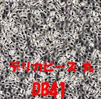 デリカビーズ DB41 20g ガラス スキ、ツヤ有り