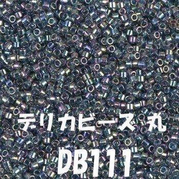ミユキ デリカビーズ 20g DB111 ガラス スキ、ツヤ有り