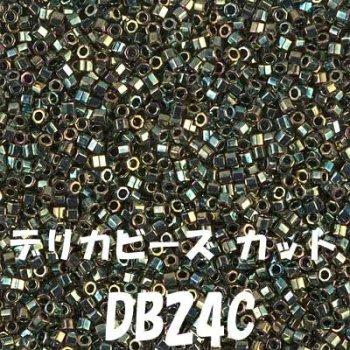 デリカビーズ DB24C 20g ガラス ギョク、ツヤ有り
